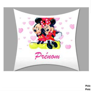coussin mickey achat vente coussin mickey pas cher cdiscount. Black Bedroom Furniture Sets. Home Design Ideas