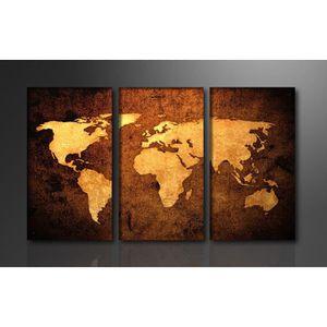Tableau carte du monde achat vente tableau carte du - Tableau coeur maison du monde ...