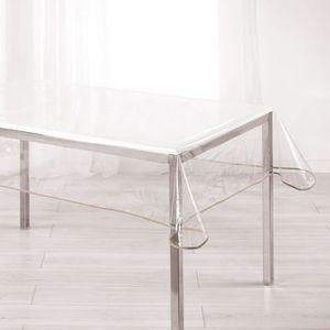 nappe transparente achat vente nappe transparente pas. Black Bedroom Furniture Sets. Home Design Ideas