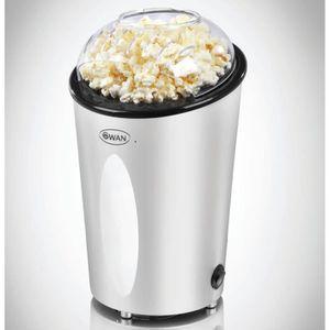 CUISEUR À POP CORN Machine à popcorn argentée Swan SF14010N