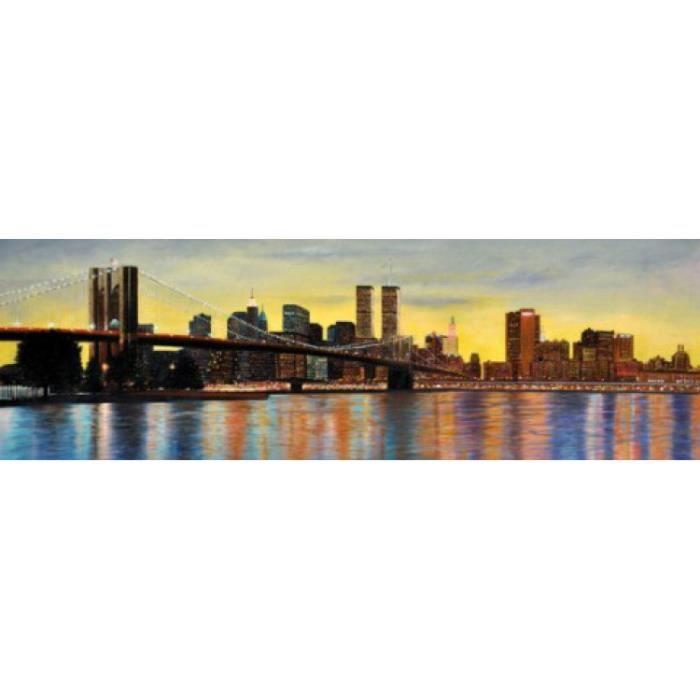 New york papier peint photo poster aurore sur achat for Decoration murale vue sur new york