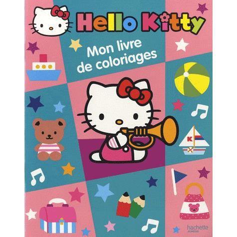 Mon livre de coloriage hello kitty achat vente livre - Hello kitty jeux coloriage ...