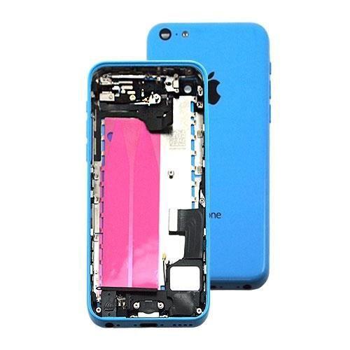 chassis coque arriere complet iphone 5c bleu achat coque bumper pas cher avis et meilleur. Black Bedroom Furniture Sets. Home Design Ideas