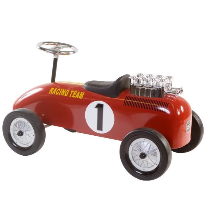 jeux de conduite voiture a pousser pour enfants niki racing team retro roller achat vente. Black Bedroom Furniture Sets. Home Design Ideas