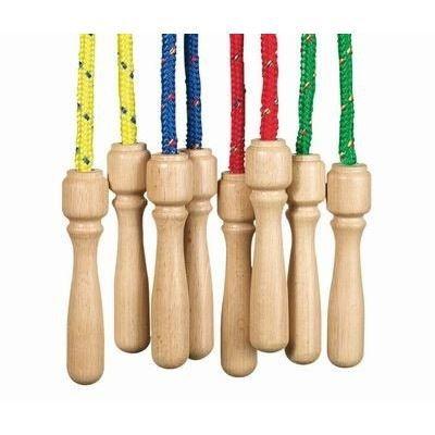 corde a sauter poign e en bois achat vente corde sauter jouet cdiscount. Black Bedroom Furniture Sets. Home Design Ideas