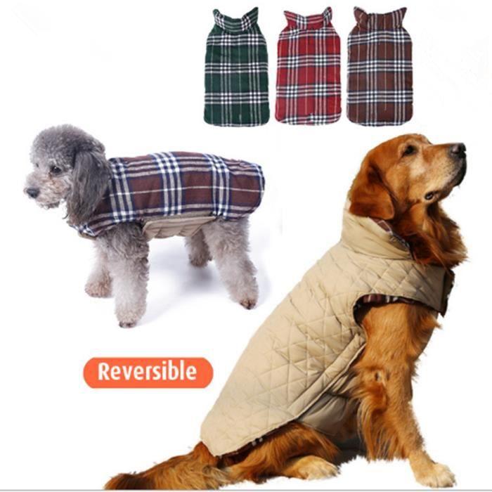 pull pour chien manteau d 39 hiver pour chien chiot manteau grand chien imperm able deguisement 2. Black Bedroom Furniture Sets. Home Design Ideas