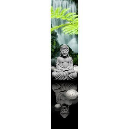 bouddha papier peint d co l intiss zen 50x250cm achat vente papier peint soldes cdiscount. Black Bedroom Furniture Sets. Home Design Ideas