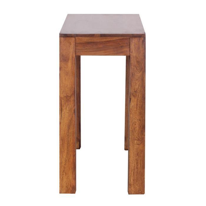 Console120cm avec tiroir bois - Console bois avec tiroir ...