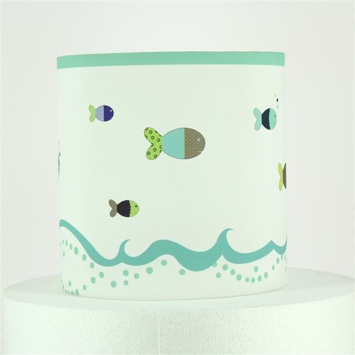 abat jour enfant poissons achat vente abat jour enfant poissons cdiscount. Black Bedroom Furniture Sets. Home Design Ideas