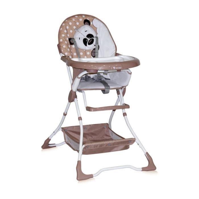 Chaise haute b b bravo lorelli premium achat vente for Chaise haute bebe carrefour