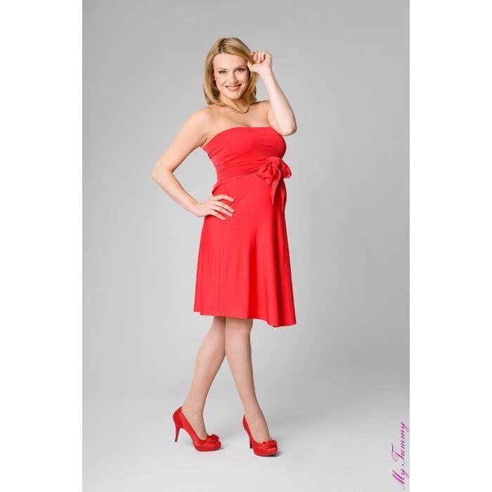 la robe de grossesse marylin rouge rouge violet achat. Black Bedroom Furniture Sets. Home Design Ideas