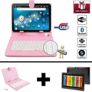 TABLETTE TACTILE Mega PACK- Tablette noire numérique Wifi 7 pouces