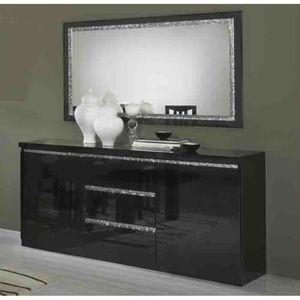 miroir enfilade achat vente miroir enfilade pas cher soldes cdiscount. Black Bedroom Furniture Sets. Home Design Ideas