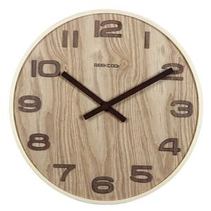 horloge murale de salon design achat vente horloge. Black Bedroom Furniture Sets. Home Design Ideas