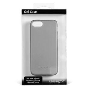 HOUSSE - CHAUSSETTE Coque silicone transparente pour iPhone 5/5S - Mat