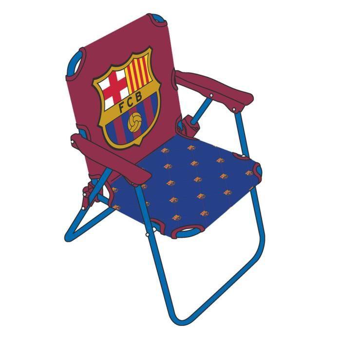 chaise pliante enfants jardin fc barcelone messi achat vente fauteuil jardin chaise pliante. Black Bedroom Furniture Sets. Home Design Ideas
