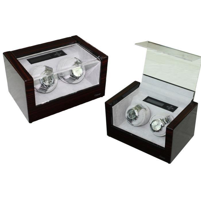 boite montres couleur b ne laqu en bois achat. Black Bedroom Furniture Sets. Home Design Ideas