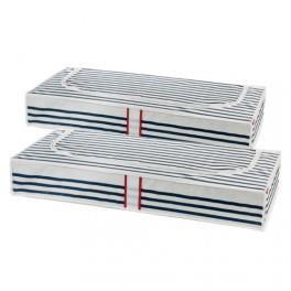 Housses de rangement dessous de lit achat vente housse for Housse de rangement sous lit