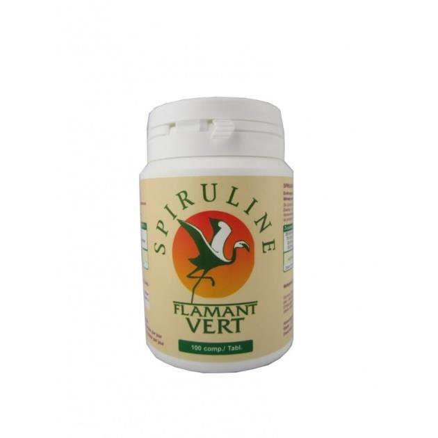 Spiruline flamant vert comprim s achat vente acides - Spiruline flamant vert 1000 comprimes ...