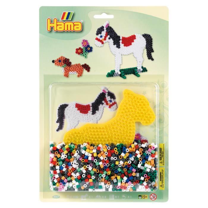 perle hama cheval achat vente jeux et jouets pas chers. Black Bedroom Furniture Sets. Home Design Ideas