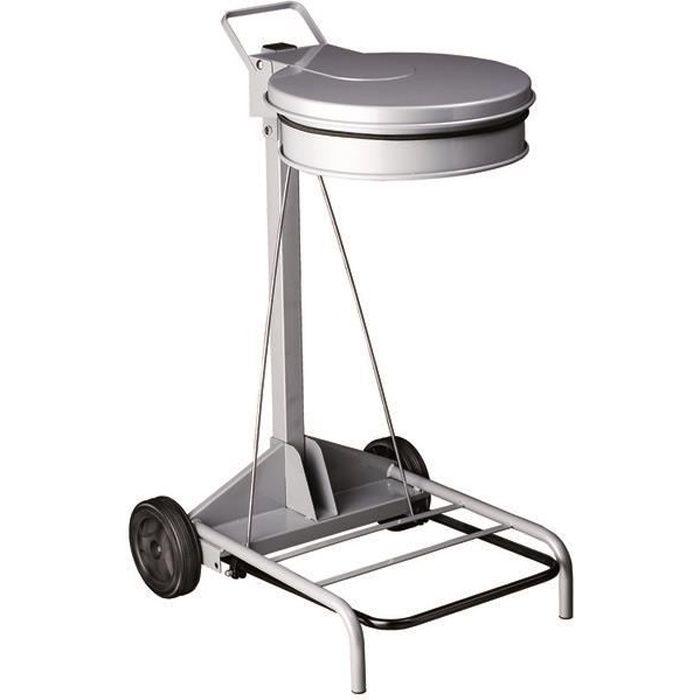 chariot porte sacs poubelle contimobile achat vente poubelle corbeille chariot porte