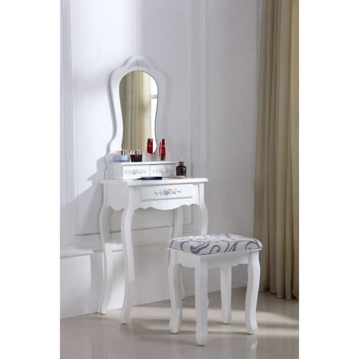 superbe coiffeuse table de maquillage achat vente. Black Bedroom Furniture Sets. Home Design Ideas