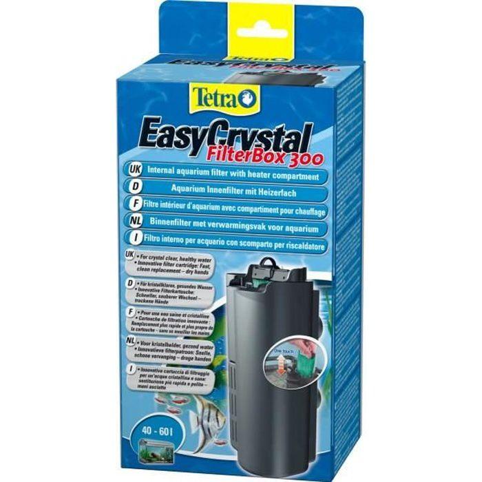 Tetra filtre aquarium easycrystal filterbox 300 achat for Filtre pour aquarium boule