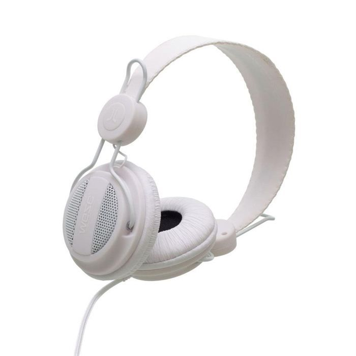 wesc casque audio oboe solid white avec micro casque couteur audio avis et prix pas cher. Black Bedroom Furniture Sets. Home Design Ideas