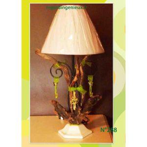 luminaire bois flotte achat vente luminaire bois flotte pas cher cdiscount. Black Bedroom Furniture Sets. Home Design Ideas