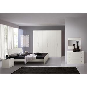 Chambre a coucher chene achat vente chambre a coucher for Achat chambre complete adulte