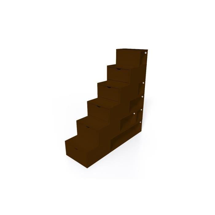 escalier cube de rangement hauteur 150cm achat vente petit meuble rangement escalier cube de. Black Bedroom Furniture Sets. Home Design Ideas