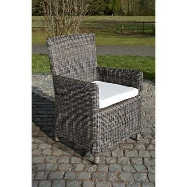 Petit fauteuil design de salon de jardin guiscardo for Petit fauteuil de salon