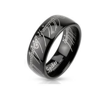 bague seigneur des anneaux noire t59 - Achat / Vente bague - anneau ...
