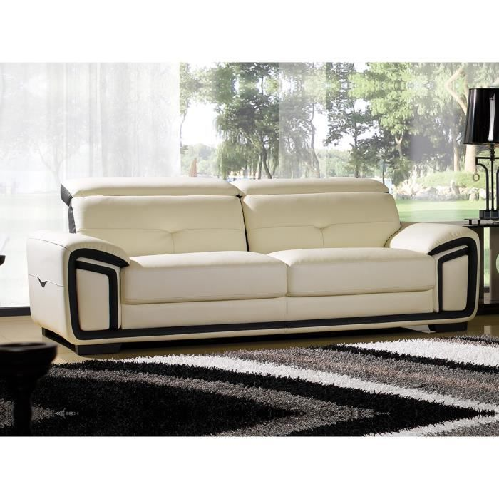Canape Dangle Convertible 2 Pl Cuir Beige ~ gascity for .