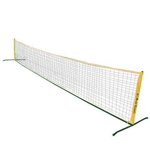 Filet portable de mini tennis de 6 m tres le petit for Dimension filet de tennis