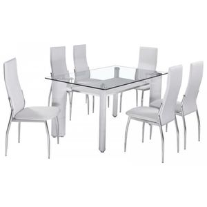 table verre chaise