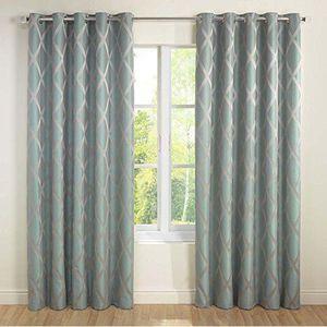 rideau vert eau achat vente rideau vert eau pas cher. Black Bedroom Furniture Sets. Home Design Ideas