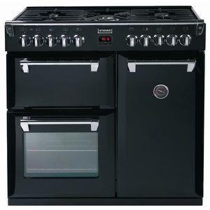 Piano de cuisson 90 cm noir four gaz achat vente piano de cuisson 90 cm n - Piano de cuisson francais ...