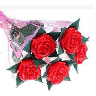 Led guirlande fleurs rose foctionner sur piles - Led a pile pour deco ...