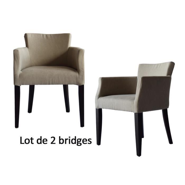 Lot de 2 bridges de table stockholm tissu sable achat vente fauteuil cd - Fauteuil stockholm occasion ...