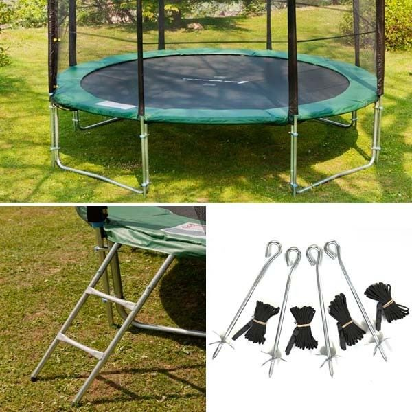 pack trampoline 3 05 complet chelle kit ancrage achat vente trampoline trampoline 3m05. Black Bedroom Furniture Sets. Home Design Ideas