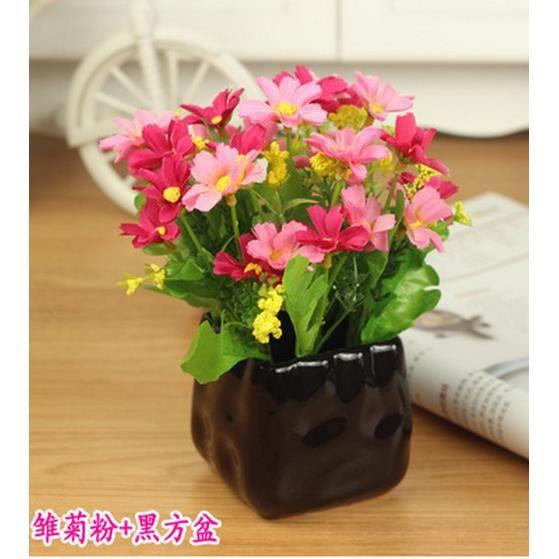 petit pot de fleur en soie la poterie et la porcelaine type 6 achat vente kit de. Black Bedroom Furniture Sets. Home Design Ideas