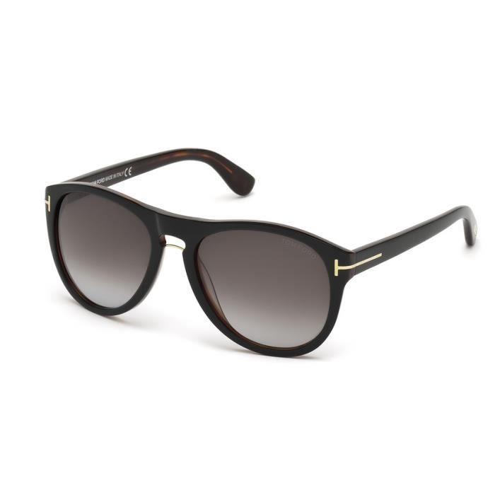 lunettes de soleil pour homme tom ford tf 9347 01v 56 noir achat vente lunettes de soleil. Black Bedroom Furniture Sets. Home Design Ideas