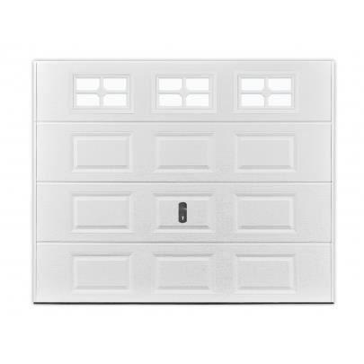 Porte de garage sectionnelle cassette speos blan achat vente porte de g - Porte de garage sectionnelle a cassette ...