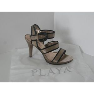 sandale a talon doree achat vente pas cher cdiscount. Black Bedroom Furniture Sets. Home Design Ideas