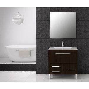 meuble salle de bain wenge pas cher