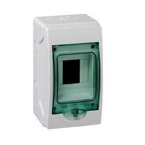 coffret electrique 4 modules achat vente coffret. Black Bedroom Furniture Sets. Home Design Ideas