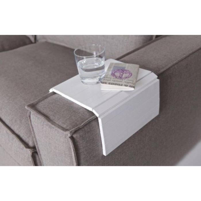 plateau en bois pliant pliable accoudoir canape sofa d jeuner tele tv achat vente service. Black Bedroom Furniture Sets. Home Design Ideas
