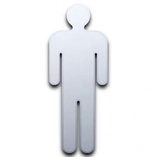 Inscrivez porte miroir homme wc 60cm x 24cm achat for Miroir qui s accroche a la porte