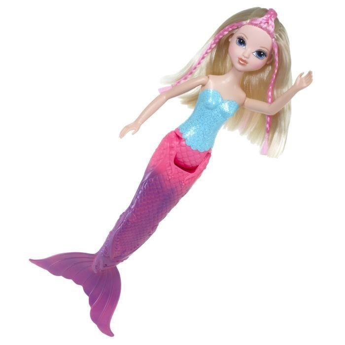 Moxie girlz sir ne magique giochi preziosi achat vente poup e soldes d t cdiscount - Barbie sirene couleur ...